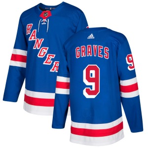 Adam Graves New York Rangers Adidas Authentic Royal Jersey